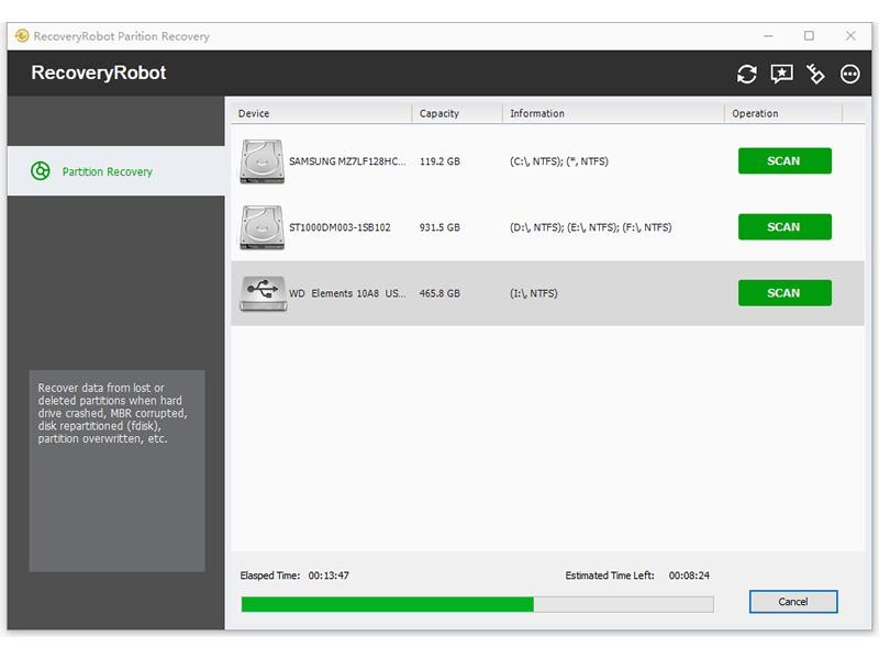 RecoveryRobot Partition Recovery 1.2.0