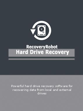 RecoveryRobot Hard Drive Recovery Boxshot