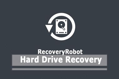RecoveryRobot Återställning av hårddisken