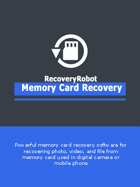 RecoveryRobot Memory Card Recovery Boxshot