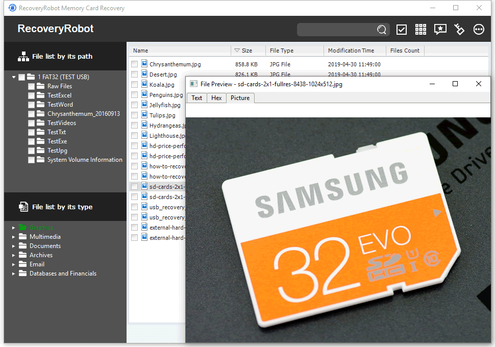 Samsung SD Memory Card Recovery Software