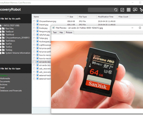 SanDisk Card Recovery Software