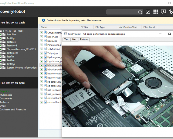 RecoveryRobot SSD recovery software