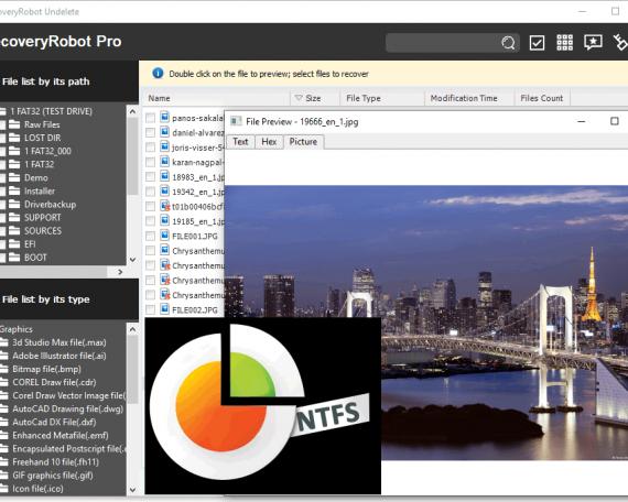 NTFS Undelete Software