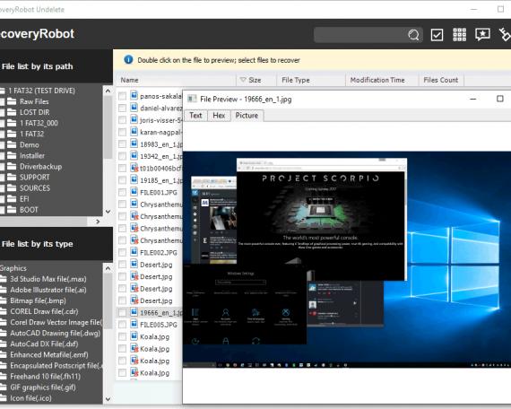 Windows Undelete Software